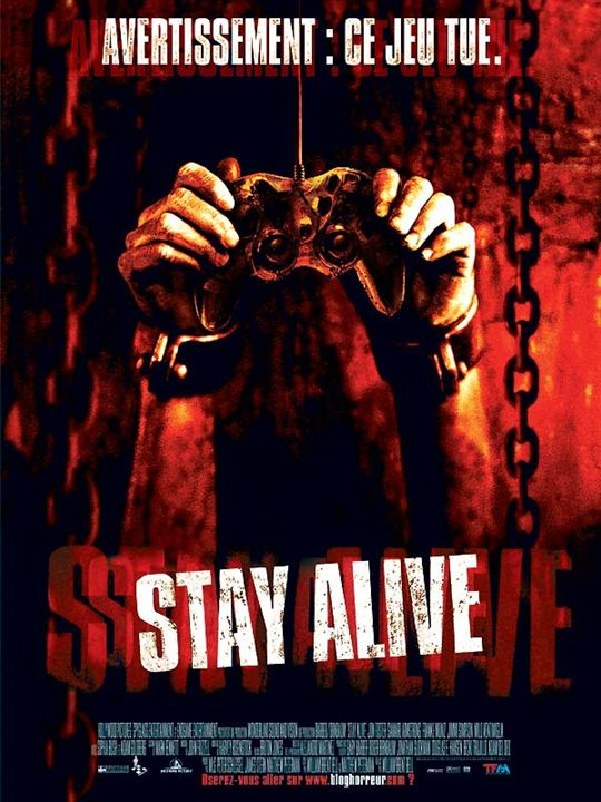 Stay Alive : Affiche William Brent Bell