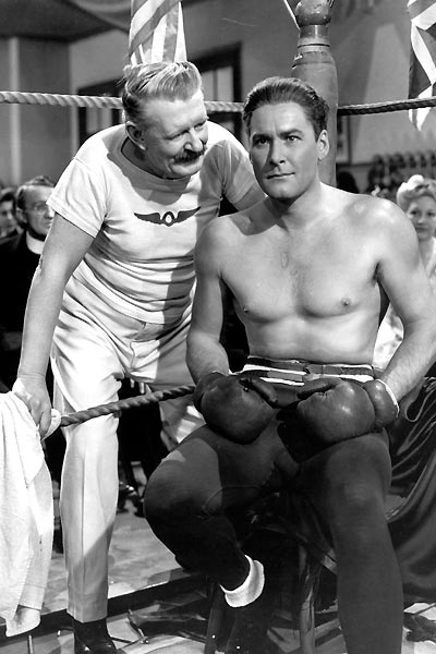Gentleman Jim : Photo Errol Flynn, Raoul Walsh