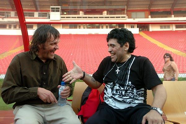 Maradona par Kusturica : Photo Diego Maradona, Emir Kusturica