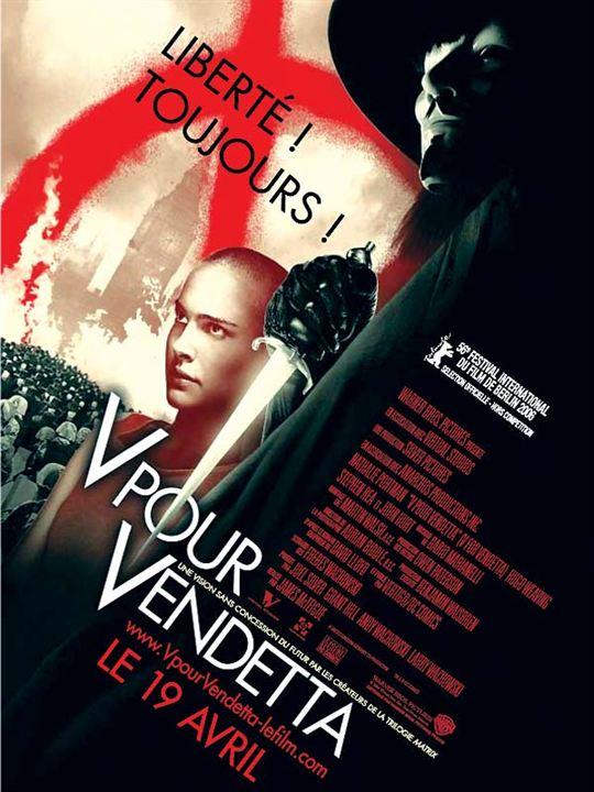 V pour Vendetta : Affiche James McTeigue