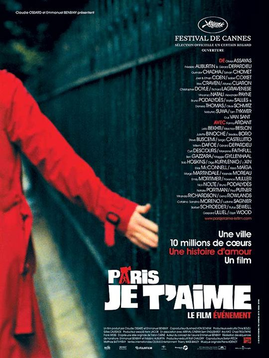 Paris, je t'aime : Affiche