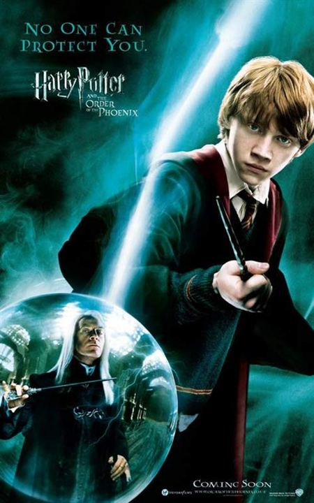 Harry Potter et l'Ordre du Phénix : Affiche David Yates, Jason Isaacs, Rupert Grint