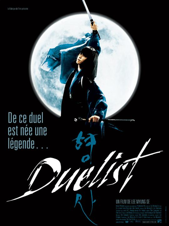 Duelist : affiche Lee Myung-Se