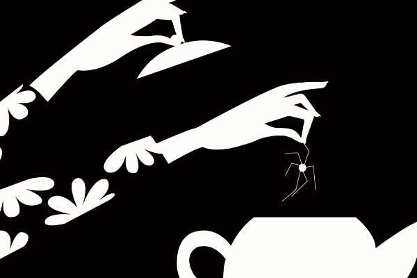 Peur(s) du noir : Photo Blutch, Charles Burns, Jerry Kramsky, Lorenzo Mattoti, Marie Caillou
