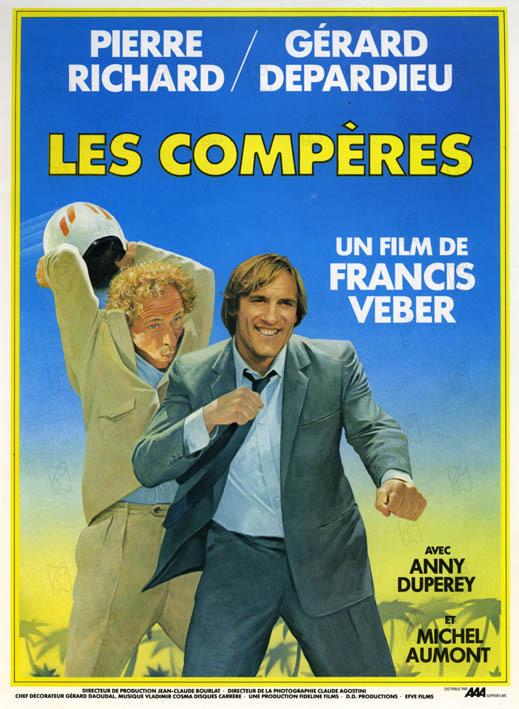 Les compères : Affiche Francis Veber