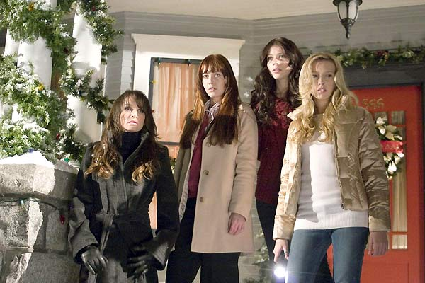Black Christmas : Photo Glen Morgan, Katie Cassidy, Kristen Cloke, Mary Elizabeth Winstead, Michelle Trachtenberg
