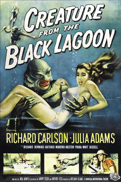 L'Etrange créature du lac noir : Affiche