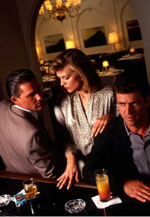 Tequila Sunrise : Photo Kurt Russell, Mel Gibson, Michelle Pfeiffer, Robert Towne