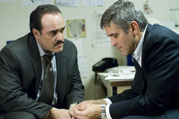 Michael Clayton : Photo David Zayas, George Clooney, Tony Gilroy