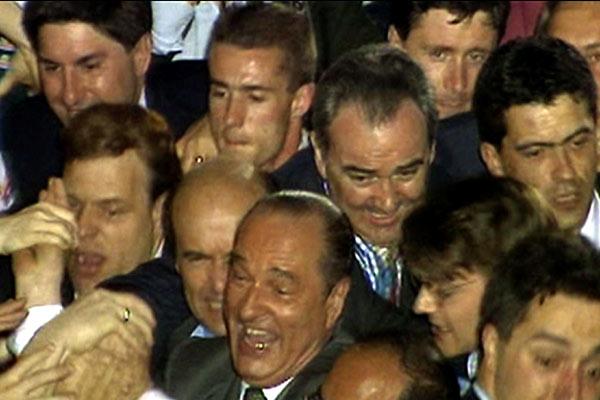 Dans la peau de Jacques Chirac : Photo Jacques Chirac, Karl Zéro, Michel Royer
