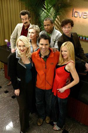 Lovespring International : Photo Eric McCormack, Jack Plotnick, Jane Lynch, Jennifer Elise Cox, Mystro Clark