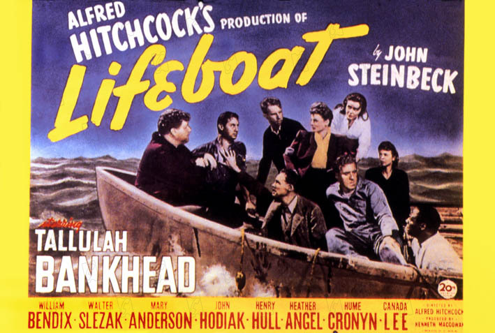 Lifeboat : Photo Heather Angel, Henry Hull, Hume Cronyn, John Hodiak, Mary Anderson