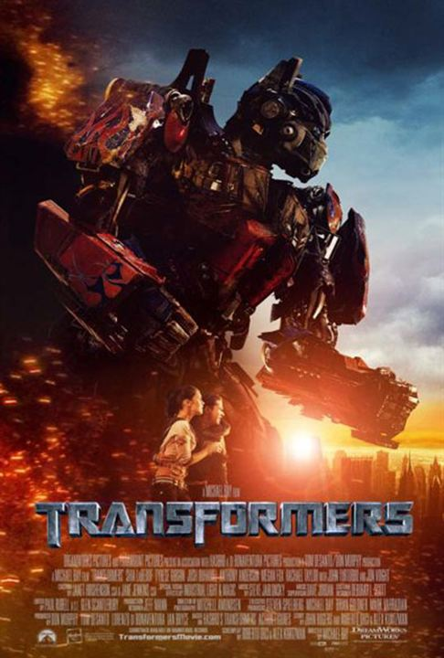 affiche du film transformers affiche 3 sur 16 allocin. Black Bedroom Furniture Sets. Home Design Ideas