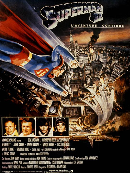 Superman II : Affiche Christopher Reeve
