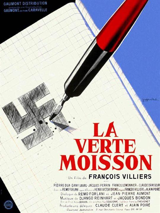 La Verte moisson : Affiche François Villiers