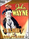 Randy le solitaire : Affiche