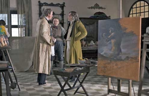 Les Fantômes de Goya : Photo Javier Bardem, Milos Forman