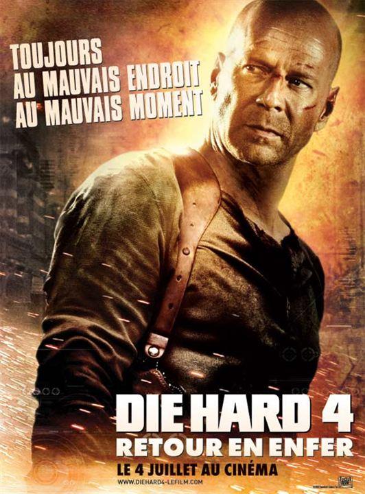 Die Hard 4 - retour en enfer : Affiche