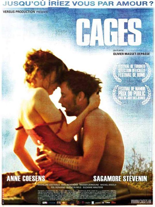 Cages : Affiche Olivier Masset-Depasse
