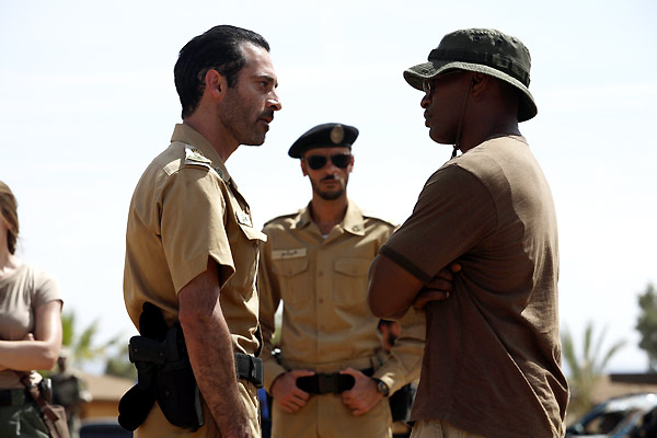 Le Royaume : Photo Ashraf Barhom, Jamie Foxx, Peter Berg