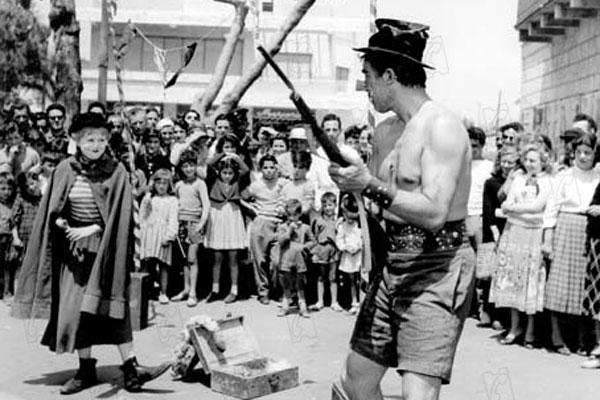 La Strada : Photo Anthony Quinn, Giulietta Masina