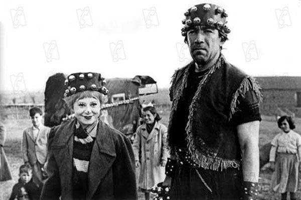 La Strada : Photo Anthony Quinn, Giulietta Masina
