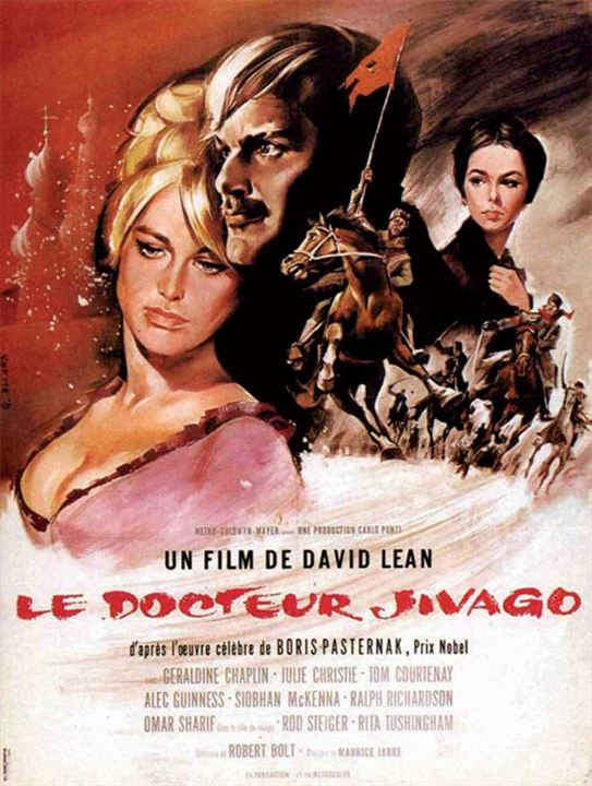 Le Docteur Jivago : Affiche David Lean, Julie Christie