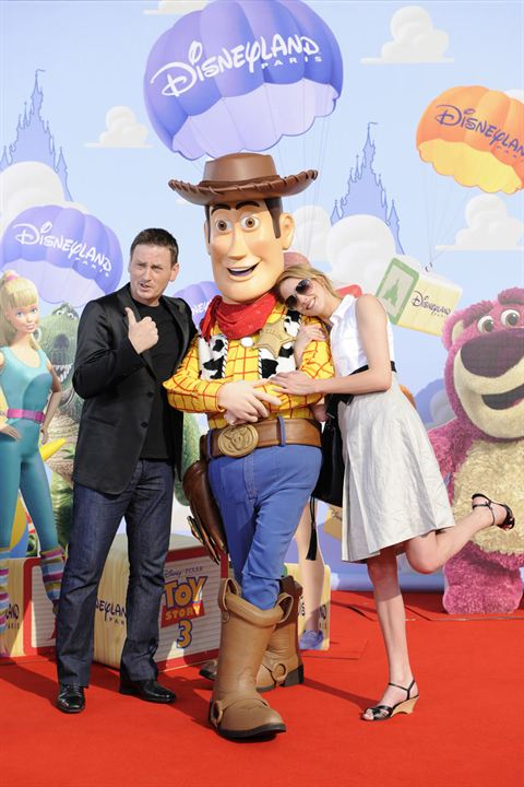 Toy Story 3 : Photo Benoît Magimel, Frédérique Bel, Lee Unkrich