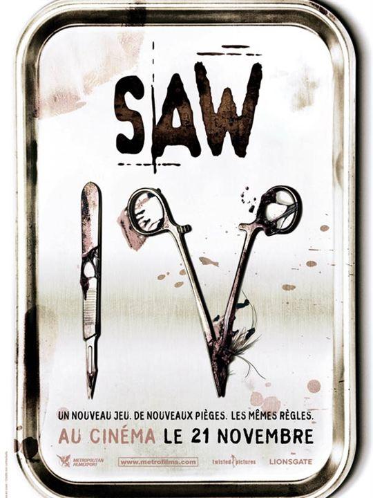 Saw 4 : Affiche Darren Lynn Bousman