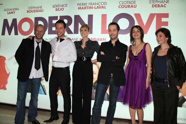 Modern Love : Photo Bérénice Bejo, Clotilde Courau, Pierre-François Martin-Laval, Stéphane Debac, Stéphane Kazandjian