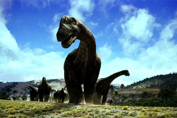 Dinosaures 3D : Géants de Patagonie : Photo Marc Fafard