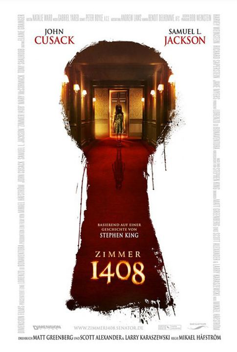 Chambre 1408 : Affiche Mikael Hafstrom