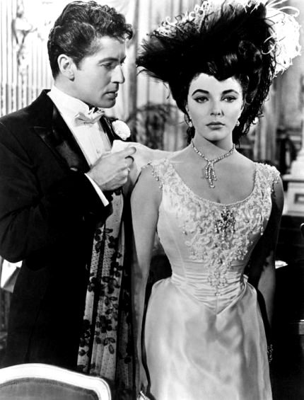La Fille sur la balançoire : Photo Farley Granger, Joan Collins, Richard Fleischer