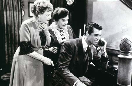 Arsenic et Vieilles Dentelles : Photo Cary Grant, Frank Capra, Jean Adair, Josephine Hull