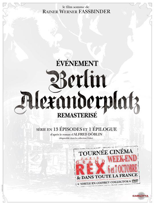 Berlin Alexanderplatz : Affiche Rainer Werner Fassbinder