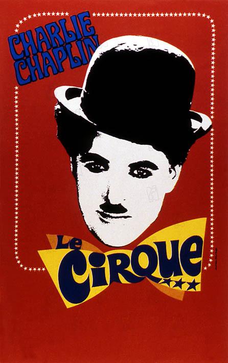Le Cirque : Affiche Charles Chaplin