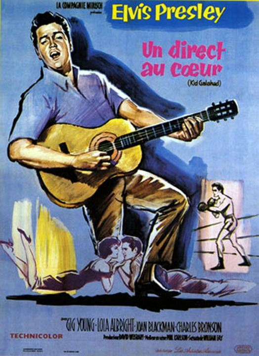 Un Direct au coeur : Affiche Elvis Presley, Phil Karlson