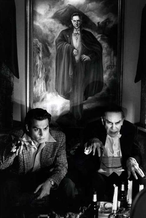 Ed Wood : Photo Johnny Depp, Martin Landau