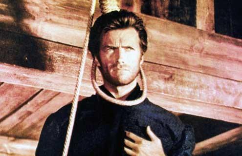 Le Bon, la brute et le truand : Photo Clint Eastwood, Sergio Leone