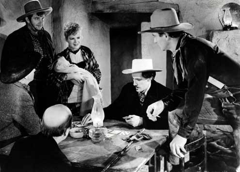 La Chevauchée fantastique : Photo Andy Devine, Claire Trevor, John Carradine, John Ford, John Wayne