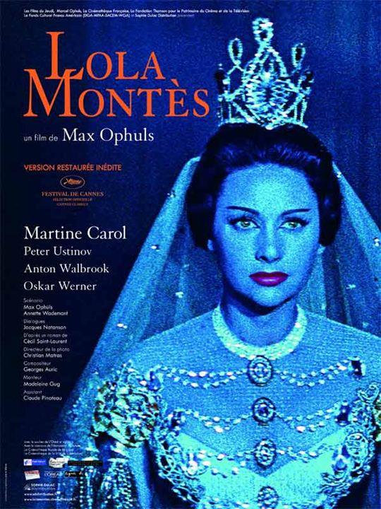 Lola Montès : Affiche Max Ophüls