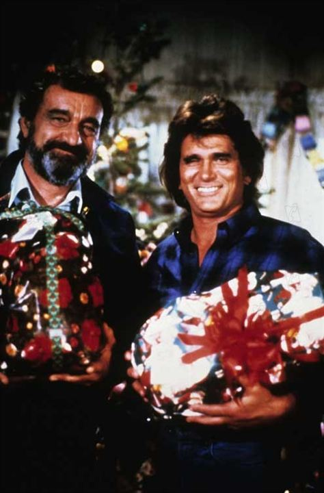 Les Routes du Paradis : Photo Michael Landon, Victor French