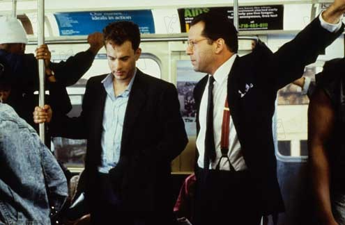 Le Bûcher des vanités : Photo Bruce Willis, Tom Hanks