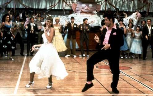 Grease : Photo John Travolta, Olivia Newton-John