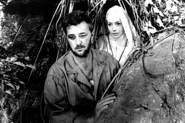 Dieu seul le sait : Photo Deborah Kerr, John Huston, Robert Mitchum