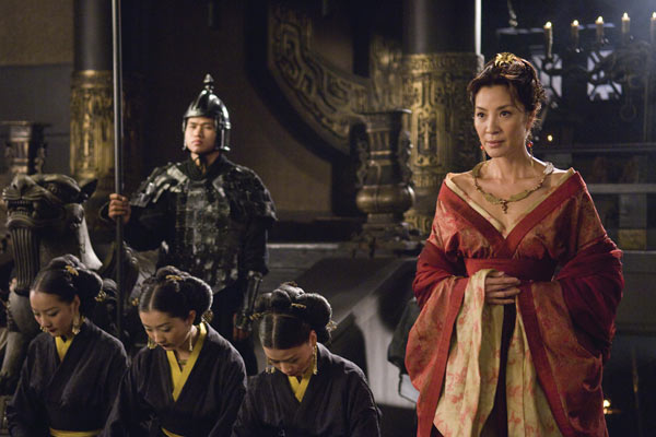 La Momie : la Tombe de l'Empereur Dragon : Photo Michelle Yeoh, Rob Cohen