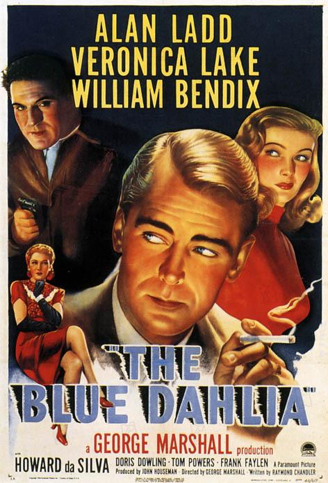 Le Dahlia bleu : Photo George Marshall