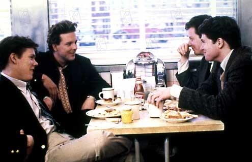 Diner : Photo Daniel Stern, Kevin Bacon, Mickey Rourke