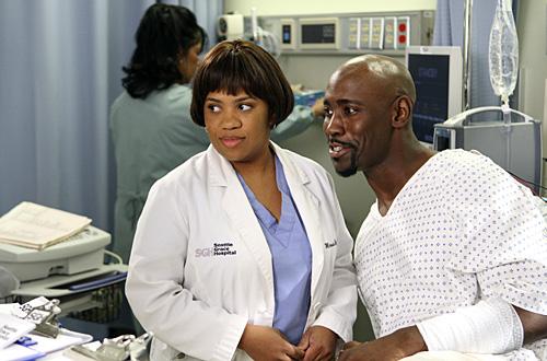 Grey's Anatomy : Photo Chandra Wilson, D.B. Woodside