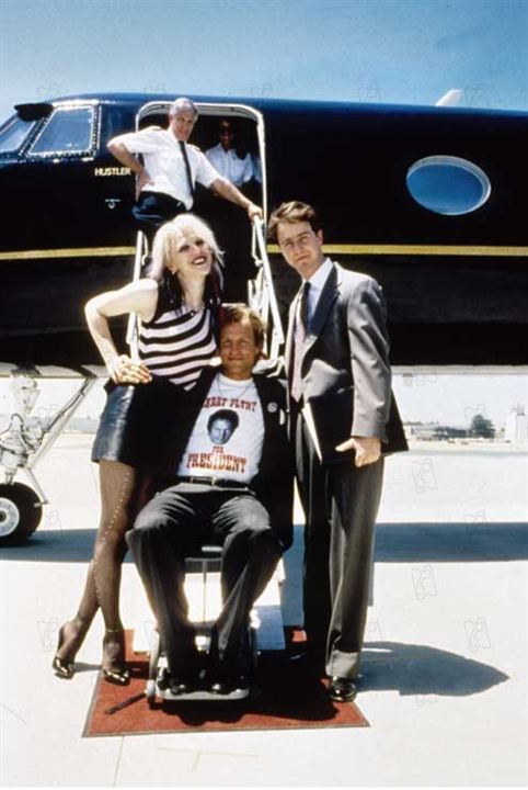 Larry Flynt : Photo Courtney Love, Edward Norton, Milos Forman, Woody Harrelson